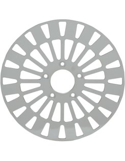 brake rotor Front Klassic Stainless Steel - Fits:> 08‑16 FLHT FLHR FLHX FLTR H‑D FL trike 14‑16 FLHRC 06‑16 Dyna (With 3 25 inch bolt circle)