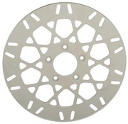brake rotor Rear Mesh Stainless Steel - Fits:> 00‑16 H‑D (Except Touring FLH/FLTs/H‑D FL Trike 13‑16 FXSB/SE)