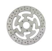 MCS brake rotor Front Wafe Stainles Steel 300mm (11.8inch)- Fits:> 08‑16 FLHT FLHR FLHX FLTR H‑D FL trike 14‑16 FLHRC