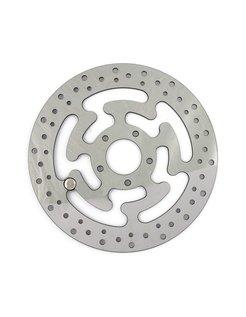 brake rotor Front Wafe Stainles Steel 300mm (11.8inch)- Fits:> 08‑16 FLHT FLHR FLHX FLTR H‑D FL trike 14‑16 FLHRC
