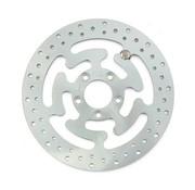 MCS brake rotor rear Wafe Steel 300mm (11.8inch)- Fits:> 08‑16 FLHT FLHR FLHX FLTR H‑D FL trike 14‑16 FLHRC