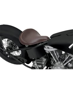 Seat Spring Solo Large Front Solo Leather Brown