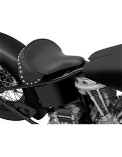 Seat Spring Solo Large Front Solo Leather Black