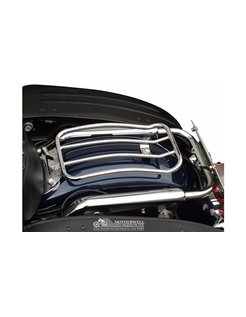 7 inch Chrome Solo Luggage rack for Touring models 97-up