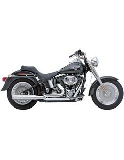 Power Pro HP 2 into 1 Exhaust System, Chrome 86-06 Softail