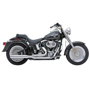 Cobra exhaust Power Pro HP 2-into-1 Chrome 07-11 Softail