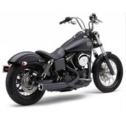 Cobra exhaust Power Pro RPT 2 into 1 system Black Sportster XL 07-13