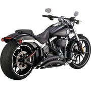 Vance and Hines exhaust Big radius Black Fits:> 13-16 breakout FXSB/SE