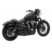 Cobra Speedster Negro Corto Swept escape completo: 14-16 Harley Sportster XL