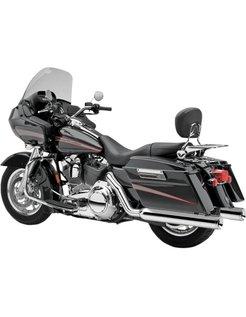 Echte Dual-Header-Auspuffsystem: Passend für 95-06 FL .. Touring Modelle