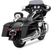 Cobra Exhaust system 2 into 1 Chrome; For 10-16 FLT, FLHT, FLHR, FLHX, FLTR models