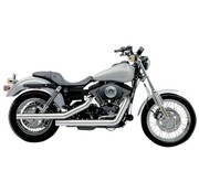 Cobra Exhaust system Dragsters Chrome; For Dyna 06 - 11
