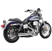 Cobra Exhaust system Power Pro HP 2 into 1 chrome; For all 12-16 Dyna models (except FLD)