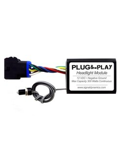 Plug and Play Headlight Modulator; for Diamond Star headlight module