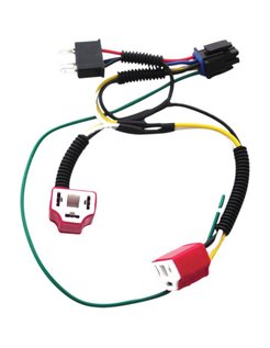 Plug and Play Headlight Dual H4 harness Adapter