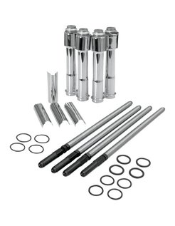 adjustable pushrod kit with covers ; for 04 - 16 Sportster models