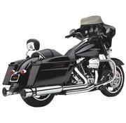 Cobra exhaust Slip-On Muffler Race-Pro Chrome for 95-16 FLHT/ FLHR/ FLHX/ FLTR