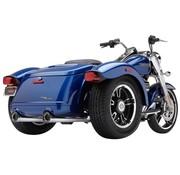 Cobra exhaust Slip-On Mufflers - Chrome for Freewheeler