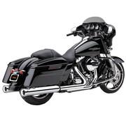 Cobra exhaust Slip-On Muffler Neighbor hater Chrome for 95-16 FLHT/ FLHR/ FLHX/ FLTR