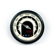 Motogadget Motoscope tiny 49mm analoge Tacho - Klassik, Schwarz oder poliert