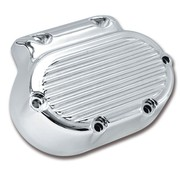 Zodiac Engine  Finned Transmission side cover - Chrome plated