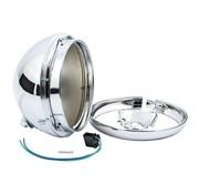 MCS headlight 7 inch shell - Fits:> 49-59 Hydra