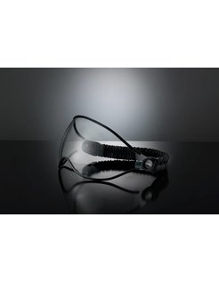 helmet visor small clear