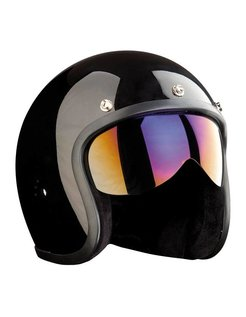 helmet visors - push-fit Iridium