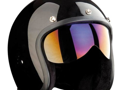 Bandit visors - push-fit, Iridium