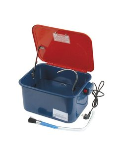Mobile parts cleaner