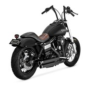 Vance and Hines exhaust Staggered with power chamber 2006-2017 Dyna (exclude FLD)