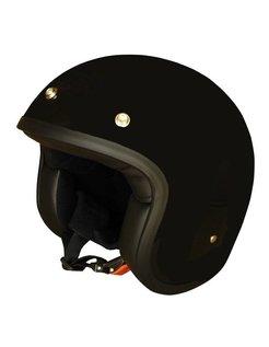 helmet solid black
