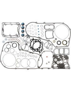 """Extreme Sealing Motor Complete Gasket set - For 99-06 Twin Cam (except 06 Dyna), BORE SIZE 99,99 mm (3.937"""")"""
