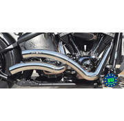 BSL exhaust EURO 3 approved HOT SHOT model Wave Fits:>1984-2016 Softail except FXCW FXCWC and FXSB