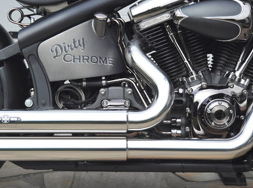 BSL exhaust EURO 3 approved HOT SHOT model Top Chopp Fits:> 1984-2016 Softail except FXCW FXCWC and FXSB