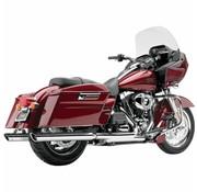 Cobra Harley exhaust 3 inch slip-on mufflers chrome; for 95-16 FLT/H