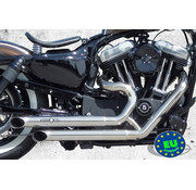 BSL exhaust EURO 3 approved HOT SHOT model Top Chopp Spoon Fits:> 2004-2013 Sportster XL