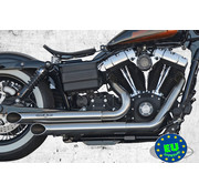 BSL exhaust EURO 3 approved HOT SHOT model Top Chopp Spoon Fits:> 2008-up Fat Bob Street Bob and Dyna Wide Glide
