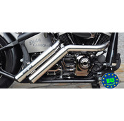 BSL exhaust EURO 3 approved HOT SHOT model Firestarter Fits:> 1984 2017 Softail except FXCW FXCWC and FXSB