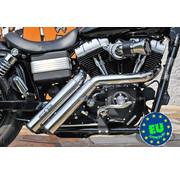 BSL exhaust EURO 3 approved HOT SHOT model Firestarter Fits:> 2008-up Street Bob Fat Bob and FXDWG Dyna Wide Glide