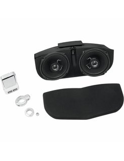 audio  Speaker system for Memphis Shades Batwing Fairing