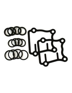 pushrod seal kit; For 99-16 Twin Cam