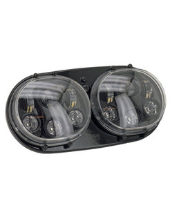 LED headlight for Road Glide (OEM 67775-10), Fits 2001 thru 2013 Road Glides