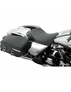 solo front seat, Fits Touring 1997-2007 models - mild stitch