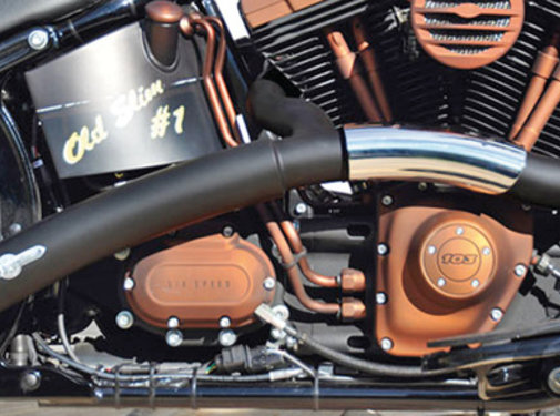 BSL exhaust EURO 3 approved HOT SHOT model Rainbow 2-1 Fits:> 2014 - 2017 Sportster XL