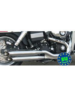 Harley exhaust Slip-on mufflers Royal Fits 2006-2017 Dyna FXDB