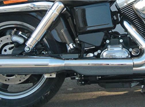 MCJ Slip-on silencieux Royale Convient FLD Switchback ou FXDL Low Rider, sauf FXDLS