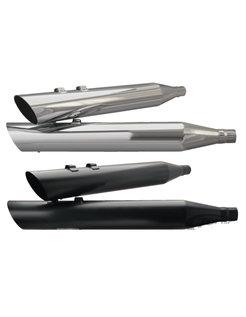 Slash unten, schwarz Schalldämpfern 4 Zoll, passend für alle Modelle von 1995 bis 2016