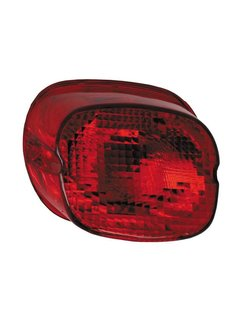taillight  lens red bottom tag window 1973-up HD
