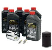 Spectro Platinum Antriebsstrang Öl-Service-Kit, für 1999-2017 Twin Cam Modelle